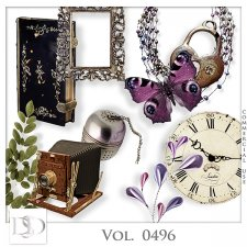 Vol. 0496 Vintage Mix by D's Design