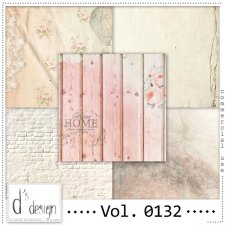 Vol. 0132 Vintage papers by Doudou Design
