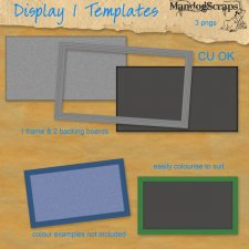 Display Board 1 Template by Mandog Scraps