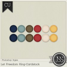 Let Freedom Ring Cardstock PS Styles by Just So Scrappy