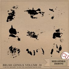 Brush Genius Volume Twenty by Mad Genius Designs