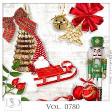 Vol. 0779 to 0783 Winter Christmas Mix by D's Design