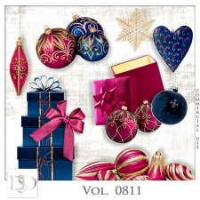 Vol. 0811 Winter Christmas Mix by D's Design