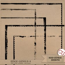 Edge Genius Volume Eight by Mad Genius Designs
