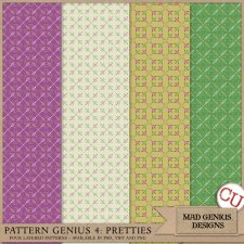 Pattern Genius Paper Volume Four by Mad Genius Designs