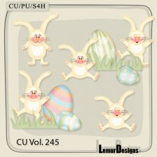 CU Vol 245 Easter Elements Pack 3 by Lemur Designs
