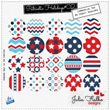 Styles - Patriotic Holidays 02 by Julia Fialho