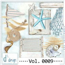 Vol. 0009 Beach Mix by Doudou Design
