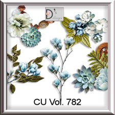 Vol. 782 floral by Doudou Design