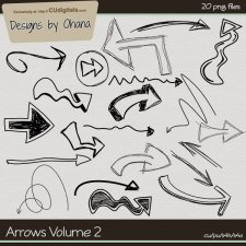 Arrow Doodles Vol 2 - EXCLUSIVE Designs by Ohana