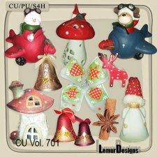 CU Vol 701 Christmas by Lemur Designs