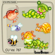 CU Vol 767 Insects by Lemur Designs