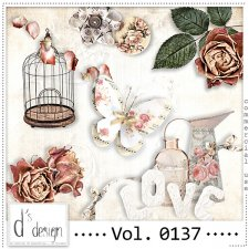 Vol. 0136 to 0138 Vintage Mix by Doudou Design