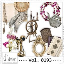 Vol. 0193 Vintage Mix by Doudou Design