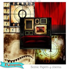 Scenic Papers 4 Cinema by Kastagnette