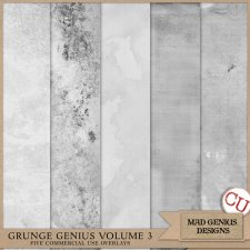 Grunge Genius Volume Three by Mad Genius Designs