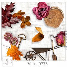 Vol. 0773 Autumn Nature Mix by D's Design