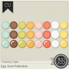 Egg Hunt Polkadots PS Styles by Just So Scrappy