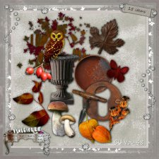 VOL 48 Autumn Elements EXCLUSIVE byMurielle