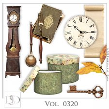 Vol. 0320 Vintage Mix by D's Design