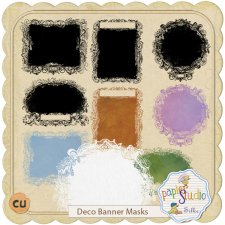 Deco Banner Mask EXCLUSIVE by PapierStudio Silke