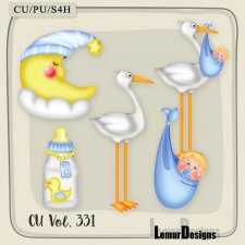 CU Vol 331 Baby stuff Boy by Lemur Designs