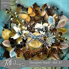 Designer Stash Vol 31 - CU by Feli Designs