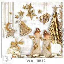 Vol. 0812 Winter Christmas Mix by D's Design