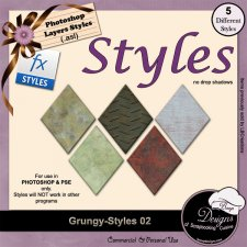 Grungy STYLES 02 by Boop Designs