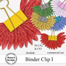 Action - Binder Clip I by Rose.li