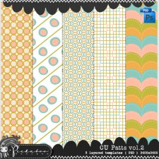 Pattern Template Paper 02 by Peek a Boo Designs