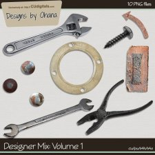 CU Mix 1 - Tools - EXCLUSIVE Designs by Ohana