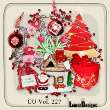 CU Vol 227 Christmas deco by Lemur Designs