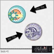 Cluster Seals Layered Templates Pack No 3