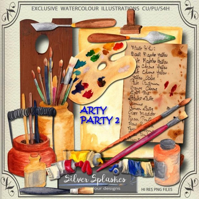 EXCLUSIVE Arty Party 2 by Silver Splashes
