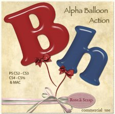 Action - Alpha Balloon by Rose.li