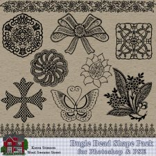 Bugle Bead Shape Pack by Karen Stimson