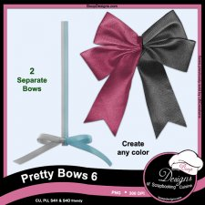 Pretty Bows 06 byBoop Designs