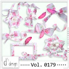 Vol. 0179 Floral Ribbons Mix by Doudou Design