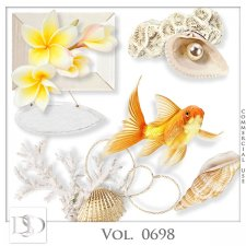 Vol. 0698 to 0702 Summer Sea Mix by D's Design