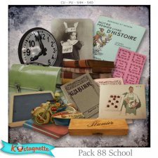 Pack 88 School by Kastagnette