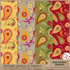 Pattern Genius Paper Volume Ten by Mad Genius Designs
