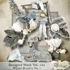 Designer Stash Vol 143 - Winter Beauties No 1 by Feli Designs