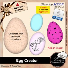 Egg Creator ACTION by Boop Designs