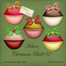 Action - Chirstmas Ball II by Rose.li
