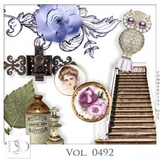 Vol. 0492 Vintage Mix by D's Design