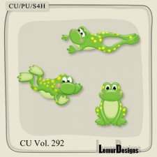 CU Vol 292 Frog by Lemur Designs