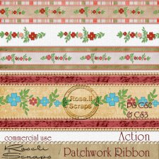 Action - Patchwork Ribbon by Rose.li