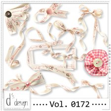 Vol. 0172 HandMade Ribbons Mix by Doudou Design