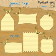 Journal Tags by Mandog Scraps
